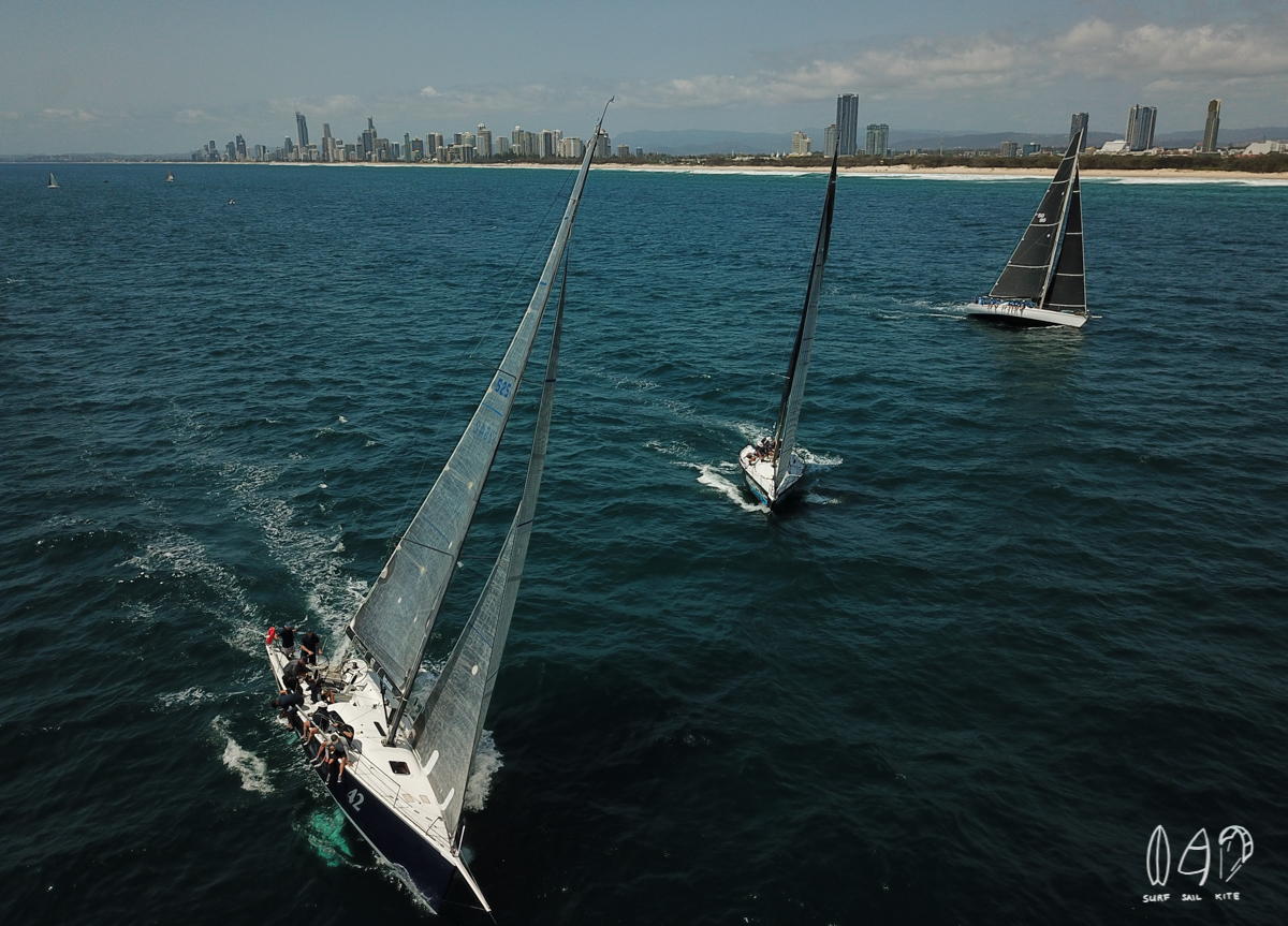 The RP42 Black Diamond with a great start in race 1